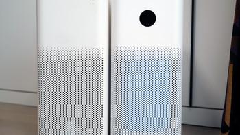 米家空气净化器3外观展示(机身|风扇|滤芯|屏幕|按钮)