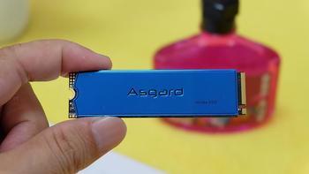 阿斯加特1T M.2固态硬盘使用总结(容量 读写 传输)