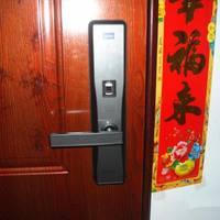 方正智能门锁安装过程(开锁|APP|做工|指纹识别)