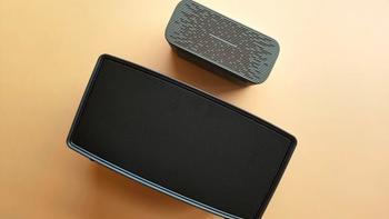 360 AI音箱MAX开箱展示(显示屏 按键 机身 低音风管)