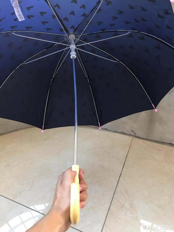 儿童时尚可爱潮流百搭迪诺遮阳伞,收货还图,百元的儿童雨伞,值否?
