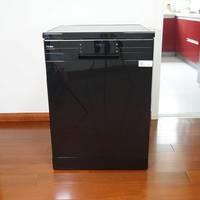 海尔13套EW139166BK双微蒸汽洗碗机外观展示(尺寸|盖板|排水口)