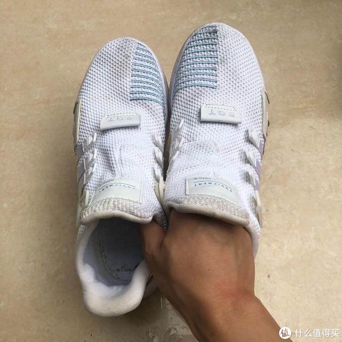 Vanish漂白粉洗网面白鞋实录