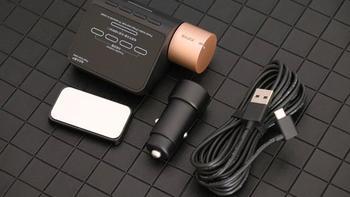 70迈行车记录仪星光夜视版图片展示(存储 停车监控 芯片 摄像头 拍摄键)