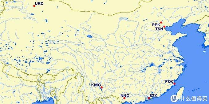 海航旗下众多马甲的基地分布,还不算重庆、西安