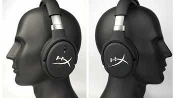 HyperX最强旗舰 Cloud Orbit S 游戏耳机佩戴效果(灯光 驱动 校准 音质)