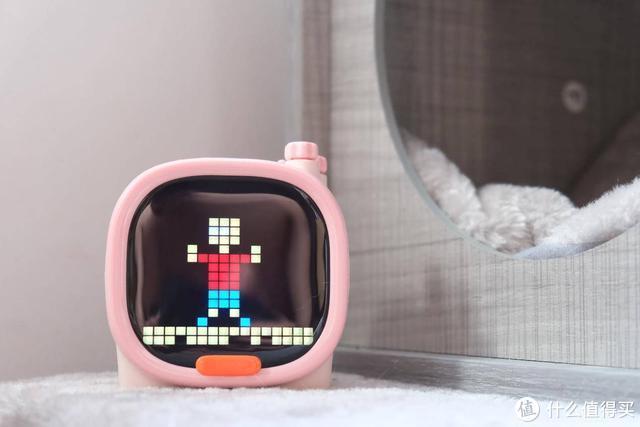 直男礼物还能有点创意吗?粉红色的Timoo萌宠小音箱,女票:造型挺萌趣