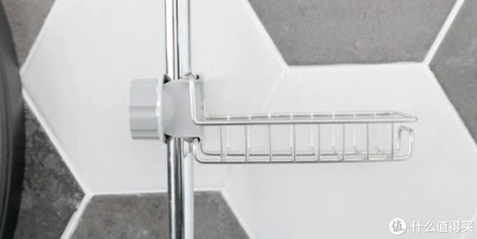 厨房用水龙头置物架(把铁丝架放在水管上,这个有创意)但是当做肥皂盒更好