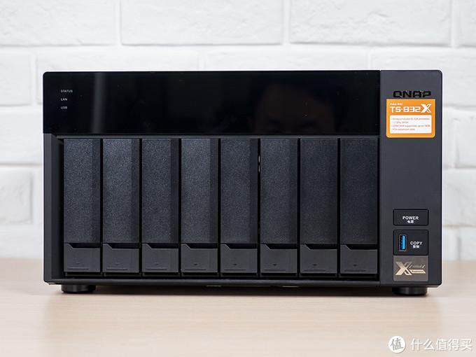 QNAP 威联通 TS-832X NAS评测:大容量存储 PCIe扩展 满足多元化存储需求