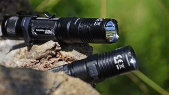 奈特科尔 P12GT户外照明外观展示(开关|柔光罩|筒身|灯头|按键)