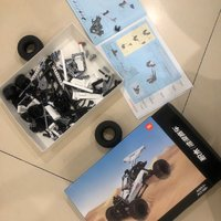 小米积木沙漠赛车外观展示(车盖|弹簧|前轮|驾驶位)