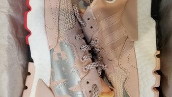 adidas 三叶草 X 3M   NITE JOGGER女子经典鞋外观展示(后跟|鞋头|鞋底|鞋舌)
