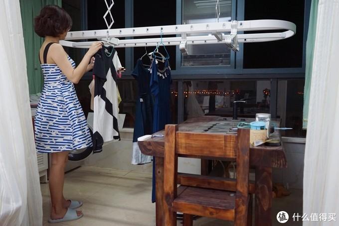 超轻松晾衣,阳台晾衣杆超优秀解决方案