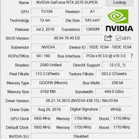 铭瑄电竞系列iCarft 2070 super显卡使用总结(性能|温度|游戏)