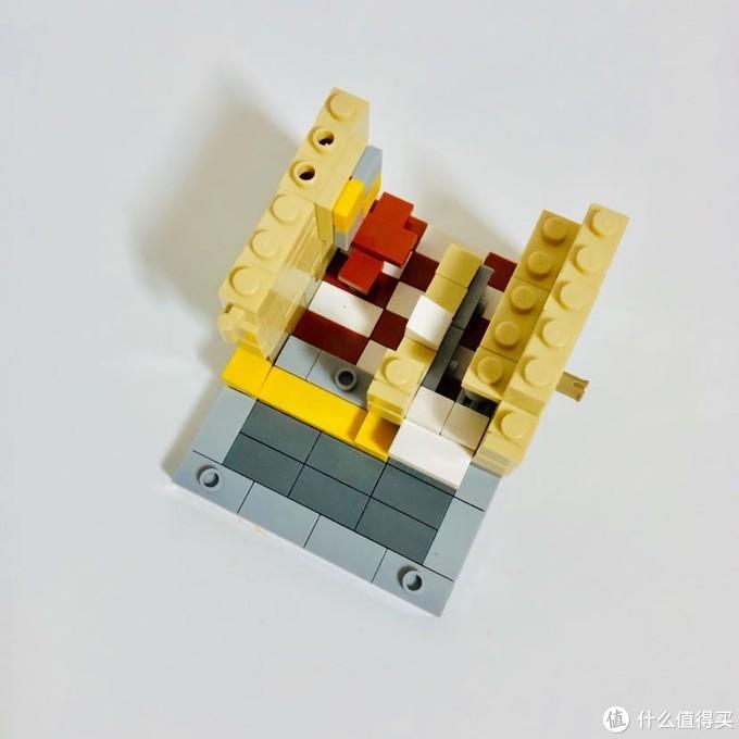 迷你街景积木玩具:M记款