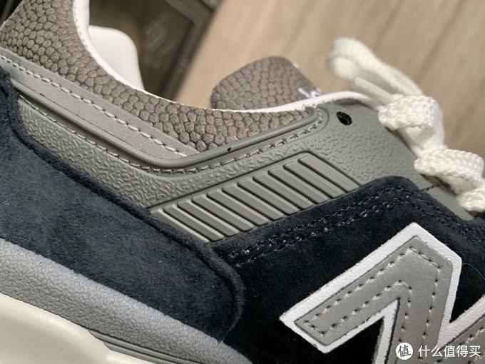 第一双美产新百伦new balance 997藏蓝