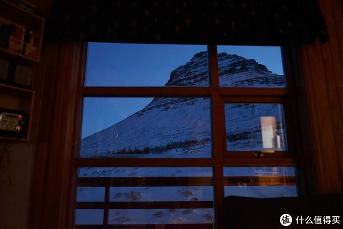 转天早上窗外的景色