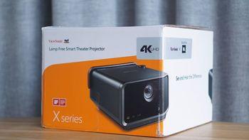 优派 X10投影机外观展示(电源线|遥控器|外壳|旋钮|网罩)