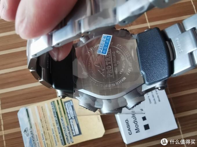 小白入手卡西欧PRW-3500T-7开箱!