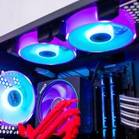 爱国者 暮光RGB风扇使用总结(灯光|风速|噪音)