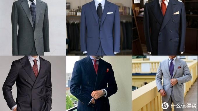 合适的西装可以改善胖子和矮个子男士体型上的缺点