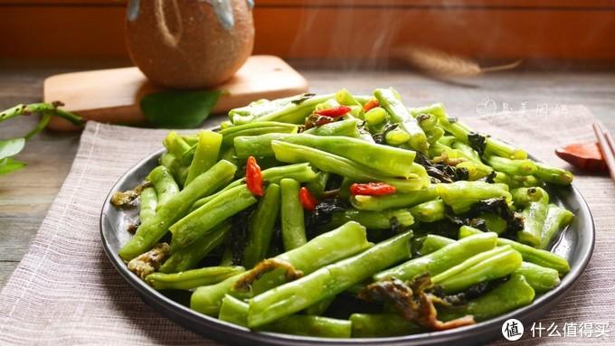 上班族快手菜,美味健康的干菜缸豆
