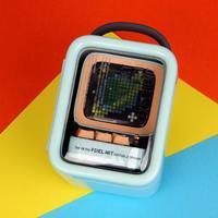 Divoom Ditoo像素复古智能音箱外观细节(按键|麦克风|灯带|扬声器)