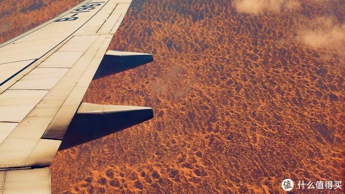 飞越的沙漠地带