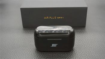 JEET AIR PlUS蓝牙耳机外观细节(耳挂|按键|外壳|接口)