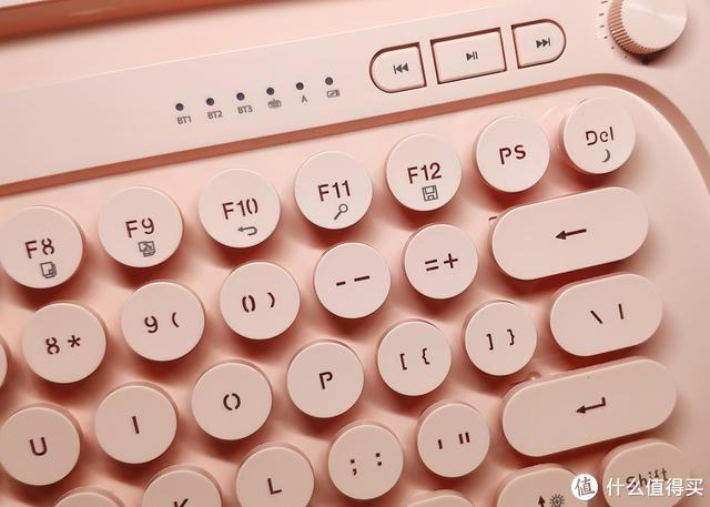 颜值与科技并重指尖神奇的触感—富德K510d无线蓝牙键盘体验