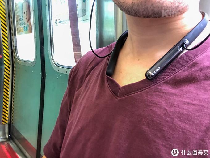 ▲ 为了测量实景的降噪效果,我选择了香港MTR的东铁线,环境噪音场景比较复杂的,算是对OPPO严苛的考验。