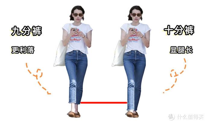 说好的九分裤显腿长,为什么你穿就显矮?学会这3招避免踩雷!