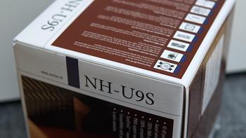 猫头鹰NH-U9S散热器图片大全(电源线|底板扣具|水泵|风扇|水管)
