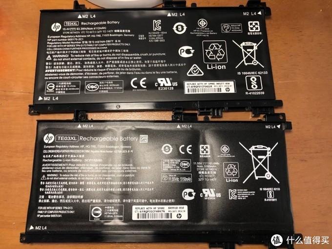 hp惠普暗影精灵2拆机换电池