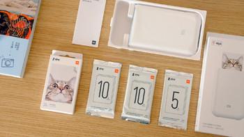 小米口袋照片打印机外观细节(参数|产地|指示灯|安装|效率)