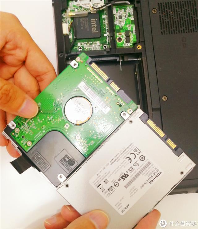 联想Y450的逆袭之路,最硬核升级—换装东芝TR200 SSD