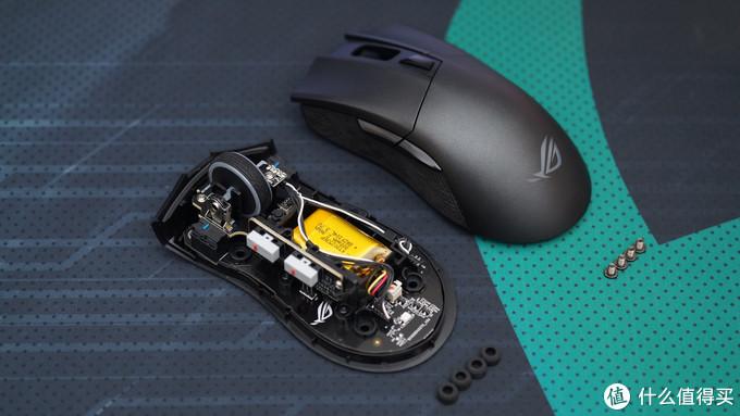 华硕 ROG Gladius II Wireless 大G二代无线鼠标它lei了