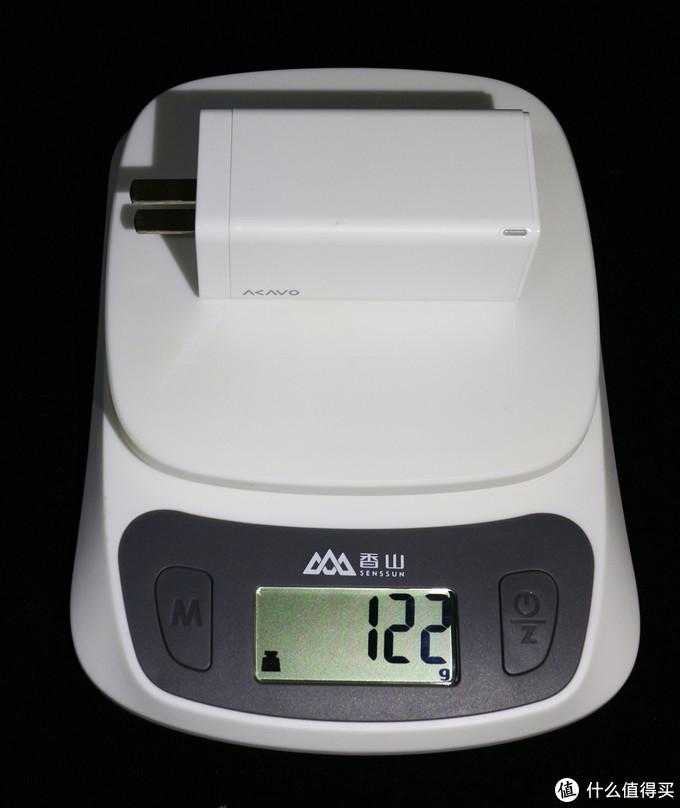 重量122g