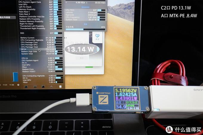 C2+A双口组合供电测试