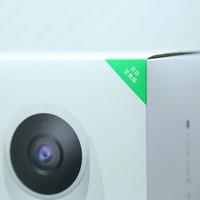 360智能摄像机外观细节(底座|镜头|光纤传感器|扬声器孔|指示灯)
