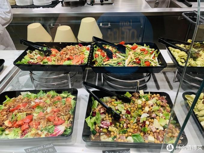 各种沙拉简餐,外国人吃的比较多