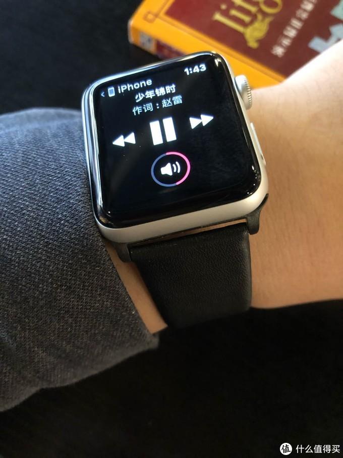 抄底入apple watch3蜂窝表带搭配推荐
