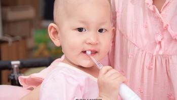 baby smile 婴幼儿牙刷使用总结(震动|柔软度)