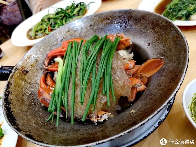 蟹肉粉丝煲