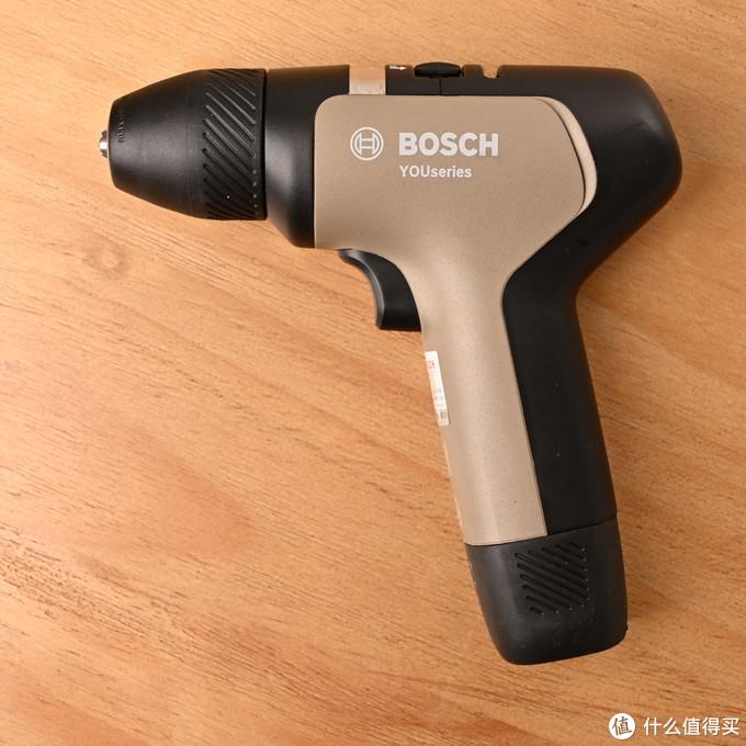 不一样的土豪金——BOSCH博世 悠系列家用电钻