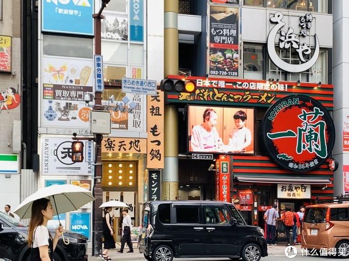 福冈是个繁华的大都市,也是九州重要的港口