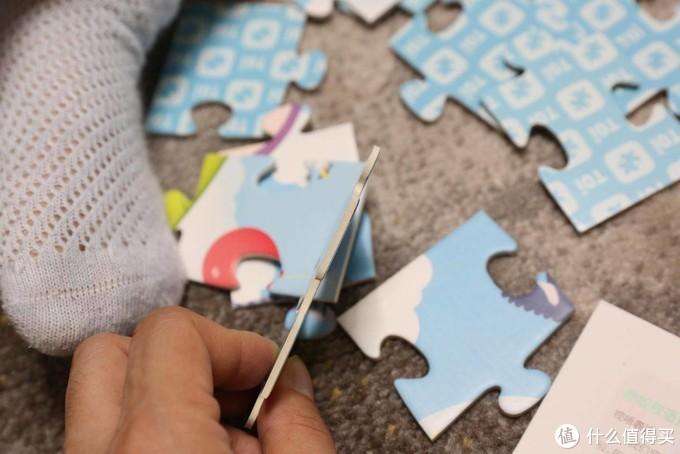 谁知道宝宝心里拼的世界是不是比你看到的大得多?TOI儿童拼图
