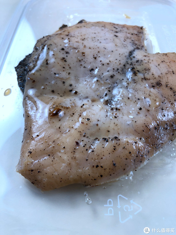 健身餐也可以很便捷-上鮮 黑椒水煎雞胸 896g/7片 開袋試吃