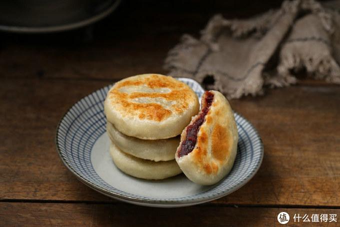 孩子最喜欢我做的豆沙饼,香甜美味又软乎,一出锅连吃仨,服了!