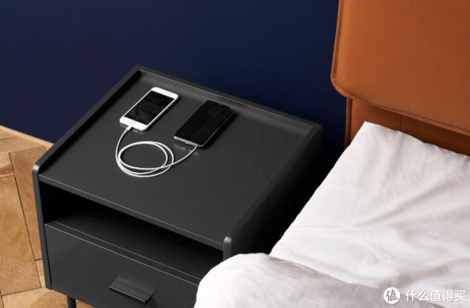 小米有品众筹上新:样子真皮床套装,床头角度随心调,更配有无线充床头柜